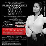 Malam ini Press Conference & Dialog Mega Konser Vina Panduwinata di Kampayo