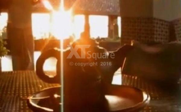 Nikmatnya Teh Boko Di Temani Matahari Terbenam