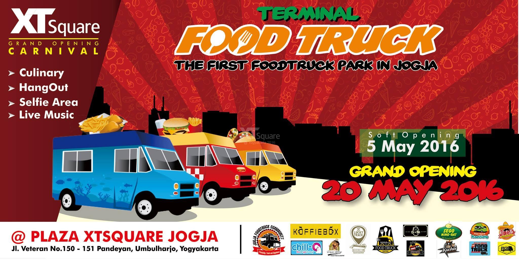 Event Jogja Karnaval Food Truck XT Square