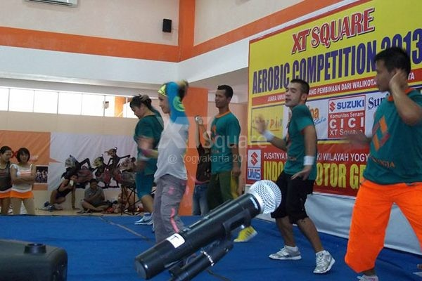 XT Square Aerobic Competition #1 Yogyakarta