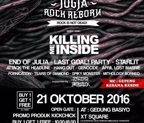 Event XT Square Jogja Rock Reborn Fornication