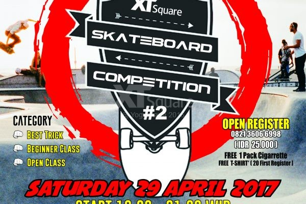 Projam Skateboad Competition 2017