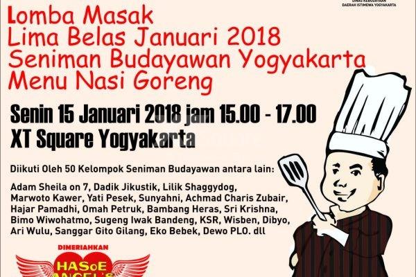Lomba Masak Lima Belas Januari (MALARI) Seniman & Budayawan Yogyakarta