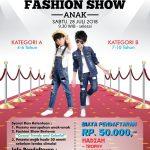 Lomba Fashion Show Anak XT Square 2018